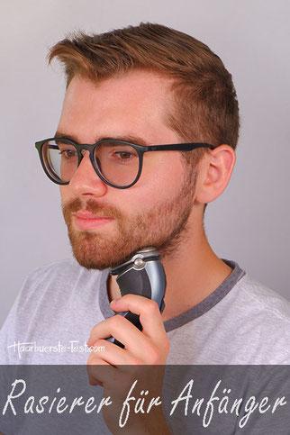 Welcher Rasierer für junge Männer?
