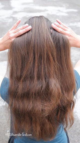 offene lange haare