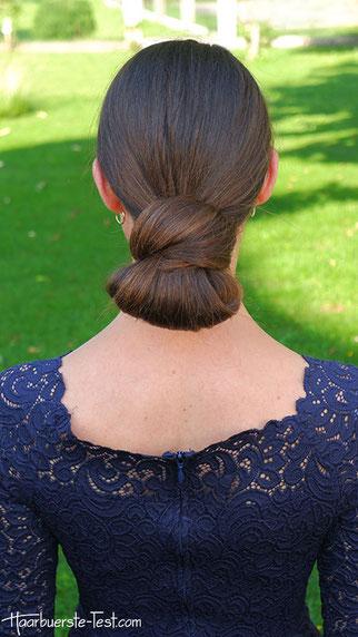 Nackenknoten Frisur
