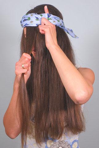 locken über nacht haarband