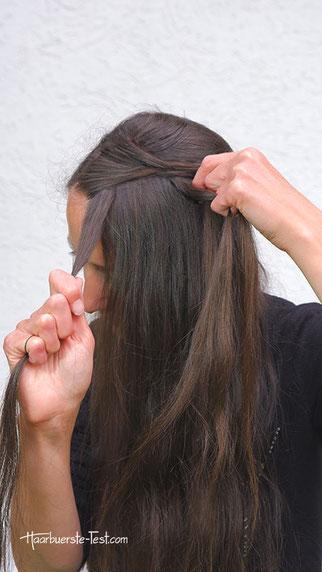 haarband flechten anleitung