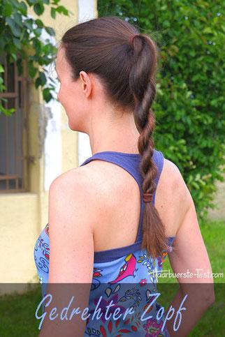 Gedrehter Zopf Anleitung: schnelle Frisur für lange Haare