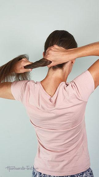 haarklammer groß frisur, große haarklammer frisur