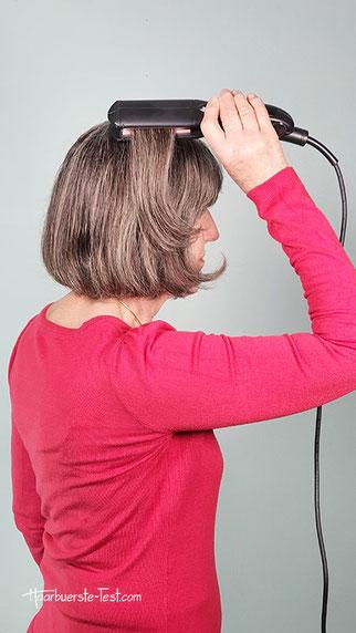 kreppeisen für kurze Haare