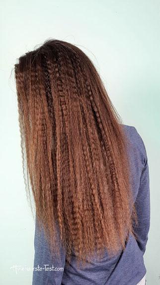 haare kreppen, gekreppte haare