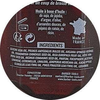 Bartöl Inhaltsstoffe