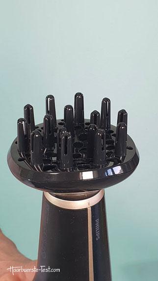 Diffusor Zähne / Zacken, diffuser haare föhnen, diffusor föhn benutzen