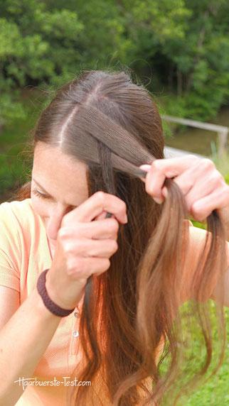 geflochtenes haarband selber machen