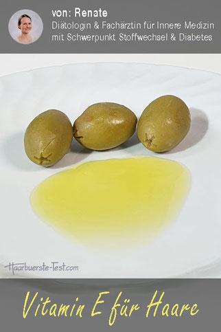 vitamin e haare, vitamin e gegen haarausfall