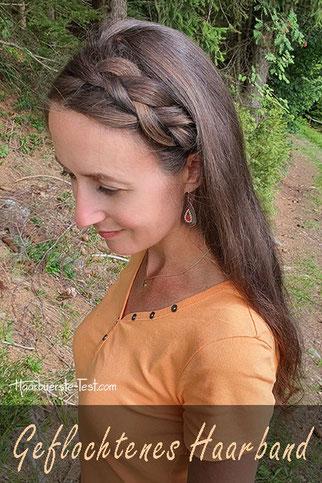 geflochtenes haarband, geflochtenes haarband selber machen, geflochtenes haarband anleitung, haarband mit eigenen haaren