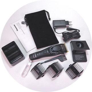Verpackungsinhalt panasonic er-dgp82 haarschneidemaschine