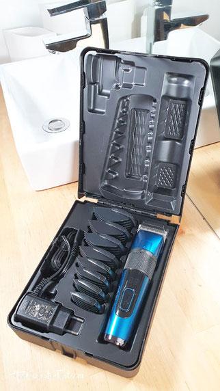Haarschneider mit Koffer