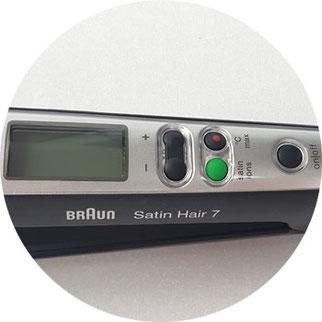 Haarglätter Braun Satin Hair 7