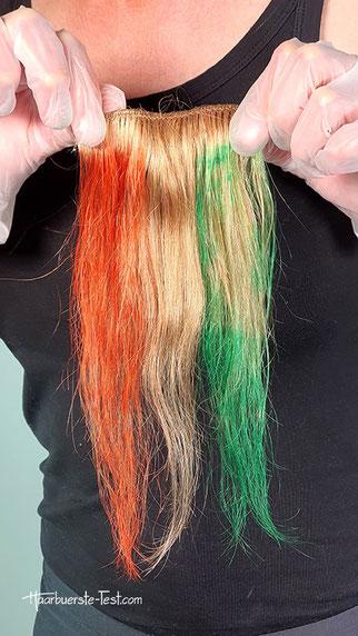 krepppapier haare färben