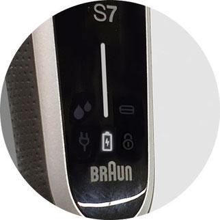 braun serie 7 display