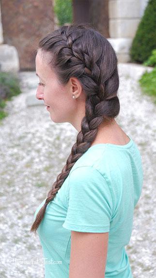 schöne flechtfrisuren für lange haare, flechtfrisur lange haare