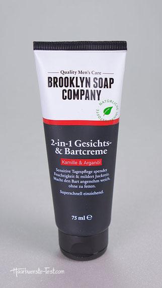 2-in-1 Gesichts- und Bartcreme, brooklyn soap Gesichts- und Bartcreme, Gesichts- und Bartcreme brooklyn soap