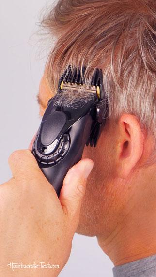 Haarschneidemaschine mit Linearmotor