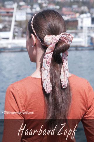 haarband zopf