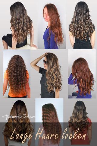 lange haare locken, locken lange haare