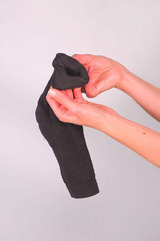 Duttkissen aus Socken