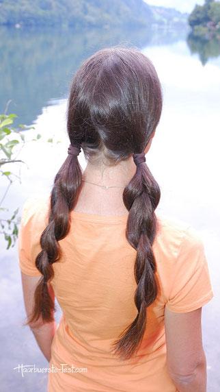 zopf lange haare, lange haare zopf