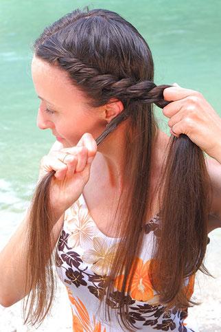 Beach Waves kurze haare