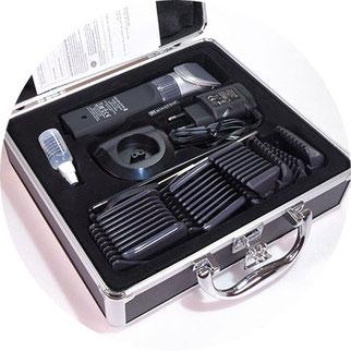 remington haarschneider im Koffer, Haarschneidemaschine im Koffer