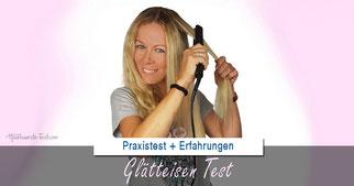 Glätteisen Test, Haarglätter Test