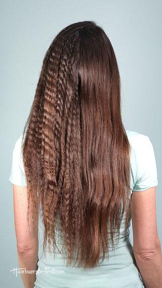 kreppeisen haare