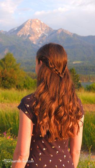 Große Locken Frisur