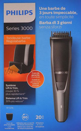Philips Bartschneider Series 3000 Verpackung