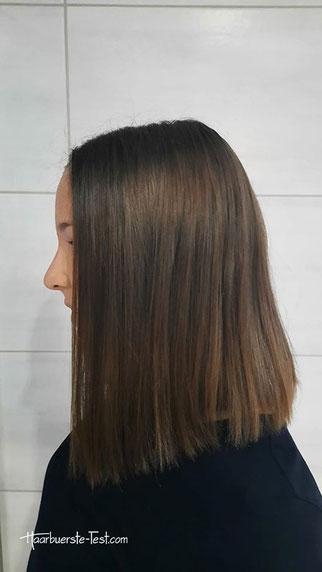 Kaltdampf Glätteisen mittellange Haare
