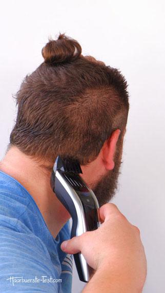 undercut mit haarschneider