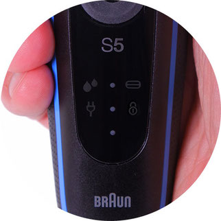 braun series 5 display