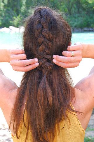 Schöne Frisur zum Nachmachen