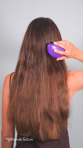 Haare bürsten