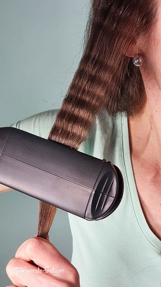 kreppeisen haare, kreppeisen in haare