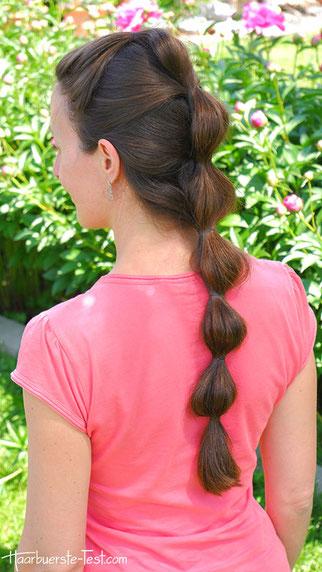 Wellenzopf Anleitung Eine Einfache Frisur Fur Lange Haare