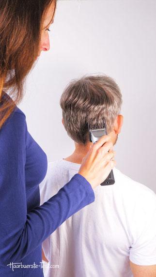Remington Haarschneider Anwendung