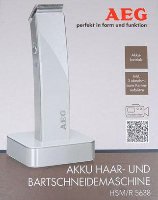 AEG HSM R 5638 Verpackung