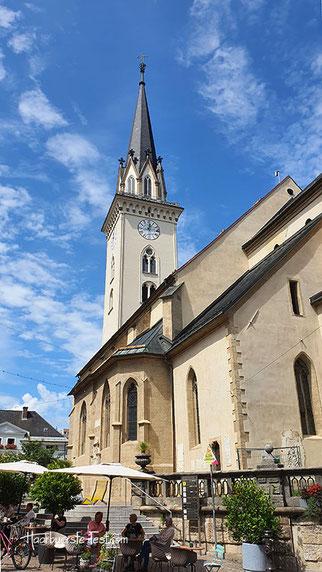 stadtpfarrkirche villach, villach-St. Jakob, stadtpfarrturm villach
