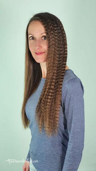 gekreppte haare, haare kreppen anleitung