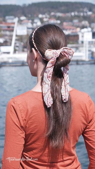 haarband zopf, zopf mit haarband, frisur mit haarband