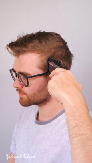 Philips Haarschneider Anwendung