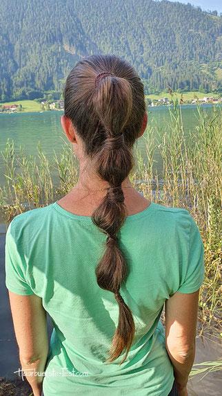 bubble ponytail, lässiger zopf, bubble braids