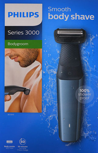 Philips Bodygroom 3000, philips series 3000 bodygroom