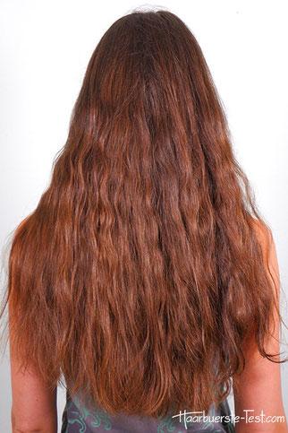 locken mit Haargummis