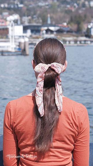 haarband zopf, zopf mit haarband