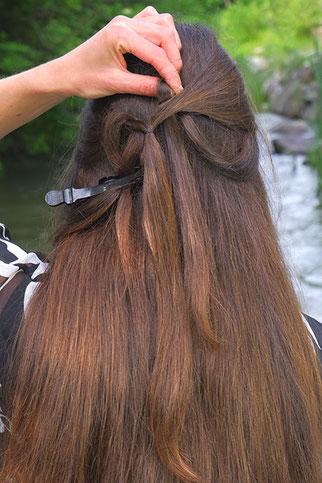 Herz Frisur selber machen Anleitung, Herz Frisur